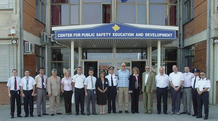 Evaluation am Kosovo Centre of Public Safety